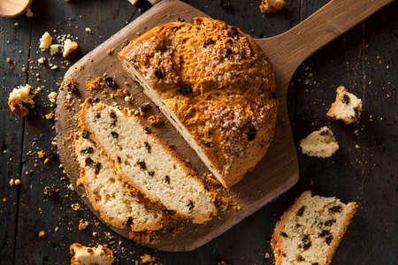 bread loaf: Homemade Irish Soda Bread for St. Patricks Day