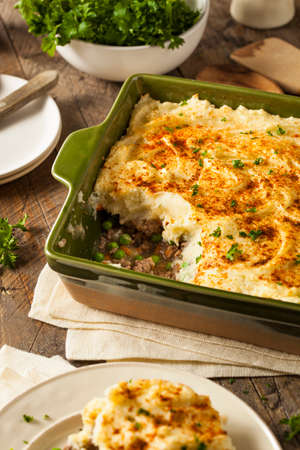 shepards: Homemade Irish Shepherds Pie with Lamb and Potatoes
