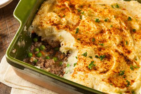 mince pie: Homemade Irish Shepherds Pie with Lamb and Potatoes