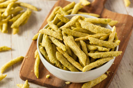 sweet sugar snap: Healthy Organic Snap Pea Chips Lightly Salted