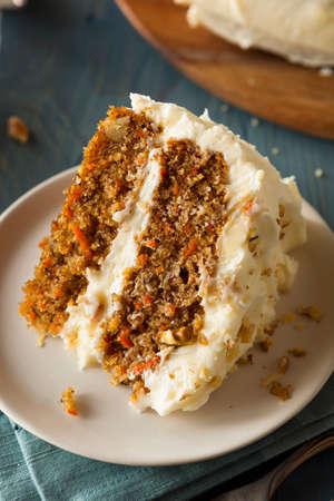 carrot cake: Healthy Homemade Carrot Cake Ready for Easter