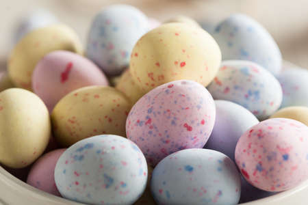 Sweet Sugary Easter Candy in a Bowl