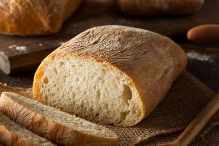 crusty: Crusty Homemade Ciabatta Bread
