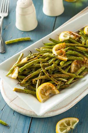 Homemade Sauteed Green Beans with Lemon and Garlic photo