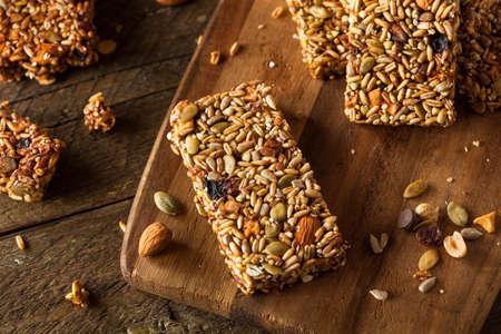 granola bar: Raw Organic Granola Bars with Seeds and Nuts