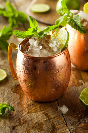 mules: Icy Cold Moscow Mules with Ginger Beer and Vodka