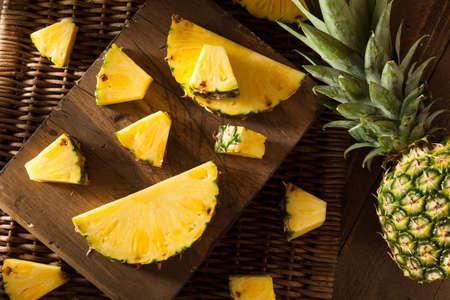 Organic Raw Yellow Pineapple