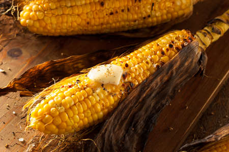 husk: Grilled Corns on the Cob with Salt and Butter