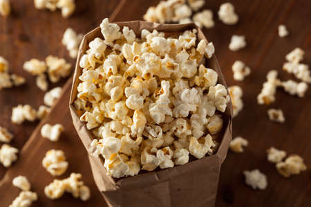 popcorn bowl: Homemade Kettle Corn Popcorn in a Bag