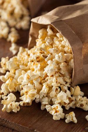 popcorn bowls: Homemade Kettle Corn Popcorn in a Bag