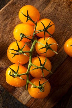 つるの有機生黄色トマト