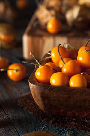 grosella: Orange Orgánicos del Cabo grosellas en un tazón de fuente