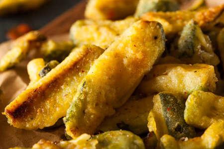 marinara sauce: Homemade Fried Zucchini Fries with Marinara Sauce