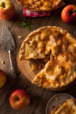 baked: Fresh Homemade Apple Pie with a Flakey Crust