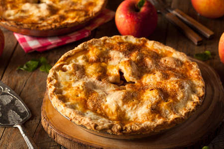 cream puff: Fresh Homemade Apple Pie with a Flakey Crust