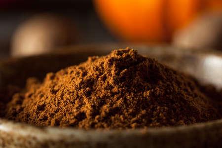 epices: Organic Raw Pumpkin Spice à la cannelle Allspice Nutmeg and Ginger