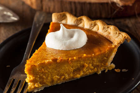 pumpkin pie: Festive Homemade Pumpkin Pie with Whipped Cream