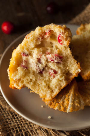 muffin: Fresh Baked Cranberry Muffins