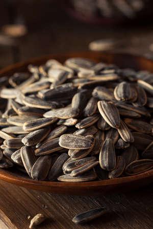 semillas de girasol: Org�nica salados y asado semillas de girasol