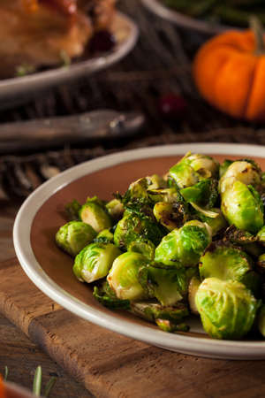 sprout: Homemade Roasted Brussel Sprouts with Salt and Pepper
