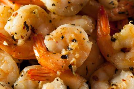 Homemade Sauteed Shrimp with Herbs and Garlic