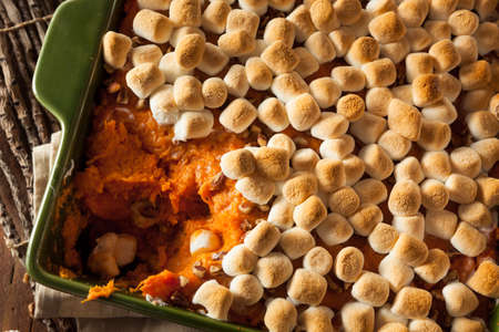 stuffing: Homemade Sweet Potato Casserole for Thanksgiving
