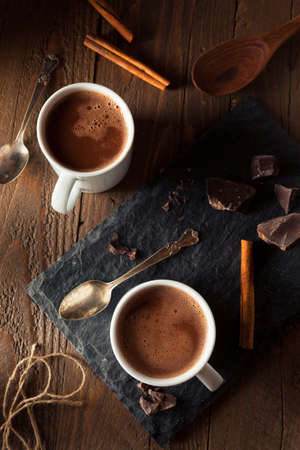 warm drink: Homemade European Drinking Chocolate Ready to Drink