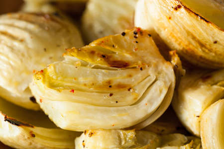 baked: Organic Baked Fennel Bulbs with Salt and Pepper