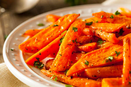 carrot: Healthy Homemade Roasted Carrots Ready to Eat