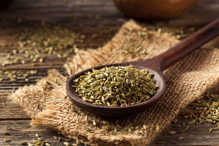 raw organic fennel Seed Ready to Use