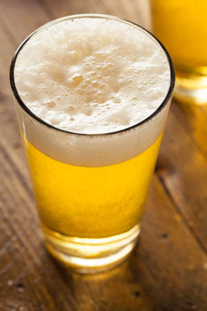 ipa: Refreshing Summer Pint of Beer Ready to Drink