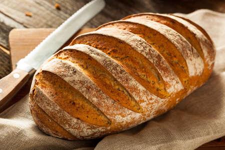 crusty: Homemade Crusty Rye Bread Ready to Eat