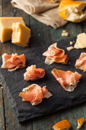 delicatessen: Organic Dry Prosciutto Appetizer Ready to Eat