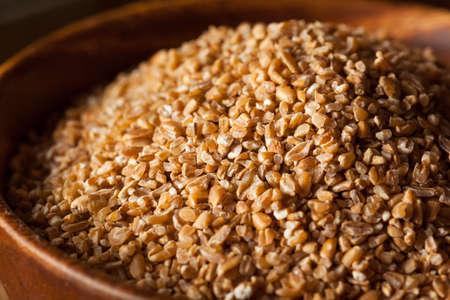 durum: Raw Organic Whole Grain Cracked Wheat Ready to Use
