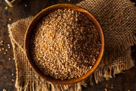 cracked: Raw Organic Whole Grain Cracked Wheat Ready to Use