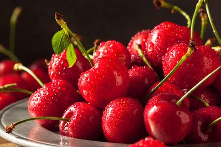 Raw Organic Strawberry Cherries Ready to Eat