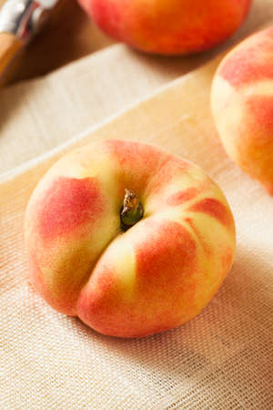 saturn: Raw Organic Donut Saturn Peaches Ready to Eat