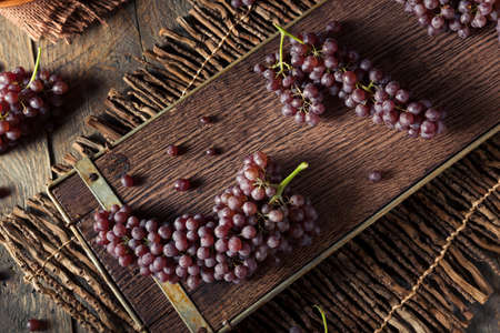 Raw Organic Table Champagne Grapes Ready to Eat
