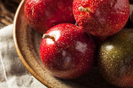 Fresh Raw Organic Passion Fruit Ready to Eat