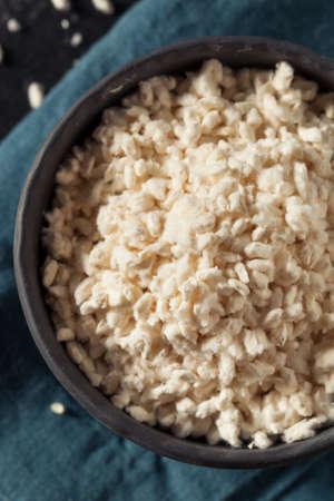 Raw Organic White Koji Rice Ready for Cooking