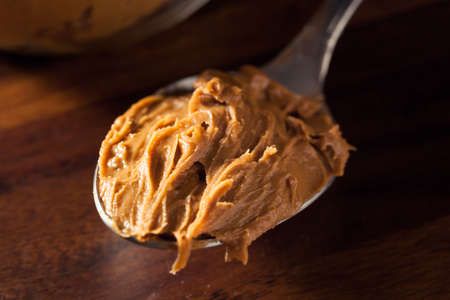 Homemade Sweet Cookie Butter in a Jar