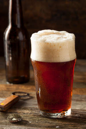 Refreshing Brown Ale Beer Ready to Drink