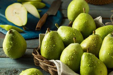 pera: Prima orgánica verde Danjou Peras Listo para comer