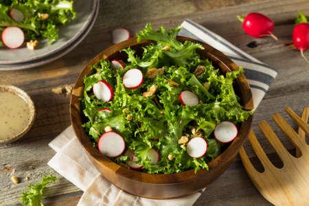 escarola: Endibia prima orgánica y ensalada con aderezo de rábano