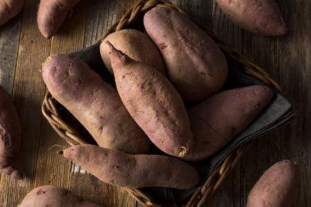 sweet potato: Raw Organic Purple Sweet Potatoes Ready to Eat