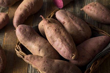 camote: Raw Organic Purple Sweet Potatoes Ready to Eat