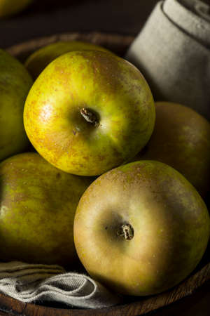 russet: Raw Organic Heirloom Golden Russet Apples Ready to Eat