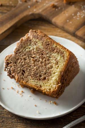 Homemade Cinnamon Coffee Cake with Powdered Sugar