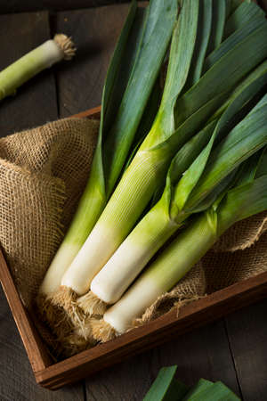 Raw Vert Poireaux Bio Prêt Chop