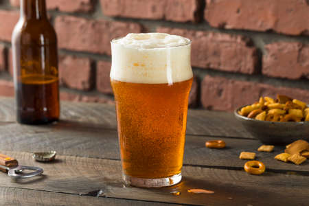 Cold Refreshing American Lager Crafter Beer Ready to Drink